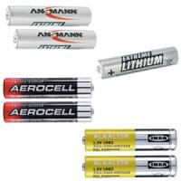 Batterijen AAA
